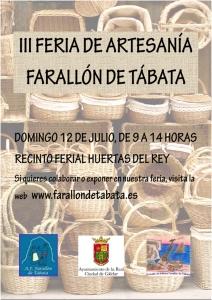 Cartel Feria de Artesanía